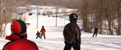 Skiing at Timber Ridge Ski Area